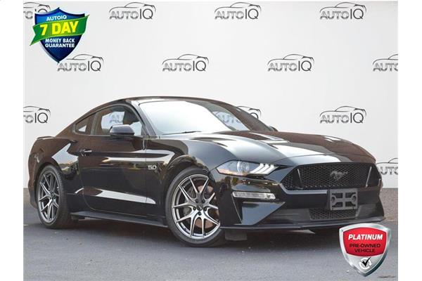 2019 Ford Mustang GT Premium COUPE  LEATHER  HEATED/COOLED SEAT  GPS